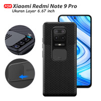 Camshield Case Xiaomi Redmi Note 9 Pro casing Slide Camera Protection