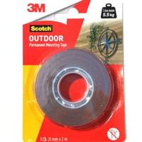 Original 3M - Double Tape 3M - Lem 3M - Dobel tip Super kuat lengket