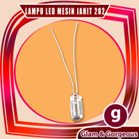 Lampu Mesin Jahit Mini Portable 202 Warna Kuning LED