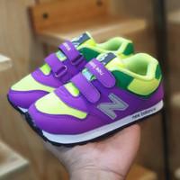 Sepatu Anak Kasual Sneakers Kets Olahraga Sekolah Ungu Grade Original