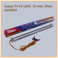 Lampu LED T4 DC / Lampu TL Aki 12V 15watt Panjang 50cm Putih GAXINDO