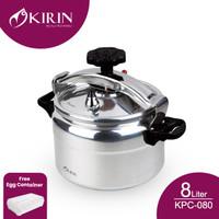 KIRIN PRESSURE COOKER 8 LITER|KPC-080