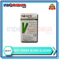 Strip gula nesco / strip glucose / strip nesco gula darah