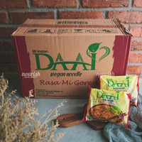 DAAI, Mie Instan Goreng Vegan NO MSG - 1 Dus ( 40 Pcs )