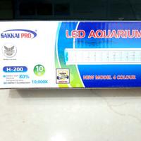 Lampu led aquarium aquascape SAKKAI PRO H 200
