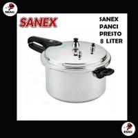 Sanex Panci Presto Kapasitas 8 liter SN-8.0 L
