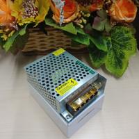 PSU Jaring 5A / 12V + Lampu LED Body Kecil - Silver