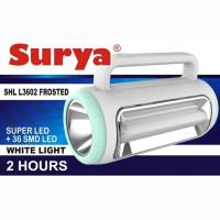 SURYA SENTER + LAMPU EMERGENCY 2 SISI SURYA SHL L3602 FORESTED