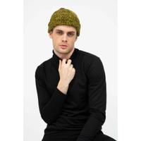 Topi Kupluk Rajut Beanie Hat Polos Topi Gunung gold dusty