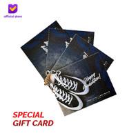 Kartu Ucapan/Gift Card/Greeting Card Footstep Footwear