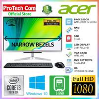 ACER PC ALL IN ONE C24-963 - i3 10110U 4GB 512GB 23,8 FHD WIN10 RESMI