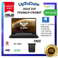 ASUS TUF FX506LH-I765B6T Core i7-10750H/8GB/512GBssd/W10/GTX1650_4GB