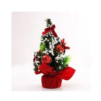 20x20cm Pohon Natal BAHAN PVC DEKORASI MEJA