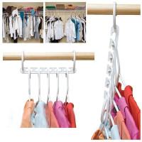 Magic Hanger gantungan baju pakaian lipat ajaib wonder hanger satuan
