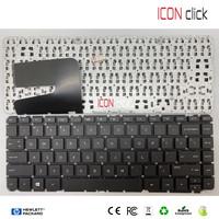 Keyboard Laptop HP Pavilion 14 - D012TU 14 - D014TU 14 - D014AU Hitam