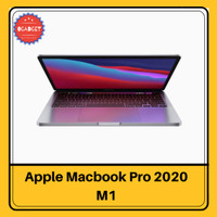 MacBook Pro with Apple M1 Chip 13-inch 8GB RAM - 256 gb, Abu-abu