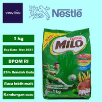 Milo 1kg / Susu Milo 1 kg / Nestle Milo 800+200 gr / Milo Active-Go