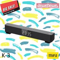 Mifa K3 Xiaomi TWS Bluetooth Speaker Stereo MI Mini TV Soundbar 5Wx2 - SILVER