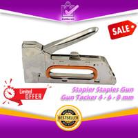 Stapler Staples Gun Tembak Jok Kulit Motor / Gun Tacker 4-6-8mm 0668