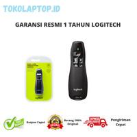 Logitech R400 Laser Pointer Wireless Garansi Resmi