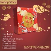Box Imlek/Dus CNY/Hampers Sincia/Box Kue/Dus Packaging 22 x 22 x 8