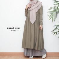 Tunik Chloe Midi - Matcha