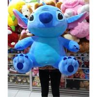 Boneka Stitch Jumbo Besar Tinggi 70 cm Lebar 60 cm