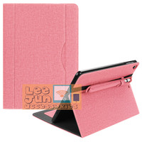 New iPad 6 2018 9.7 Gen-6 Denim Book Smart Flip Case/Cover w.Holder