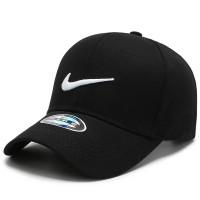 Nike Kualitas Tinggi Topi Baseball Topi Adjustable 062 - black