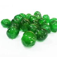 cherry hijau tampak tangkay 100gr