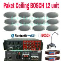 Paket Sound System Ceiling BOSCH LHM 0606 ( 12 unit )