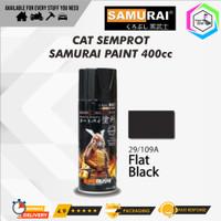 Samurai Paint 109A Black Doff/Hitam Doff Cat Semprot/Pylox