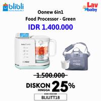 TD - Oonew baby pure Food Processor 6in1 michelin steamer blender