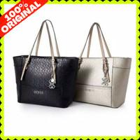 Tas Tote Bag Guess Wanita Branded Original Store MB023 - Black
