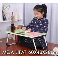 Meja Belajar Lipat Anak Kost Mahasiswa - Portable Desk - Hitam