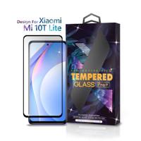 Tempered Glass Xiaomi Mi 10T Lite Full Cover Black - Premium Glass Pro
