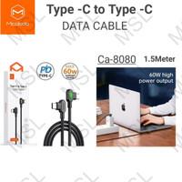 Mcdodo Kabel Data Type C to Type C Gaming 90 60W 1.5M PD Fast CA-8080
