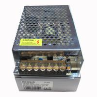 PSU Jaring 5A / 12V + Lampu LED Body Besar - Silver
