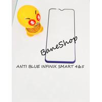 TEMPERGLASS INFINIX SMART 4&5 ANTI BLUE 5D FULL LEM FULL COVER