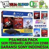PS4 PS 4 SONY Playstation 4 Slim 1TB BUNDLE MEGA PACK
