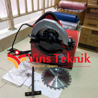 Mesin circle gergaji kayu 7 INCH CM508 BITEC circular saw CM 508