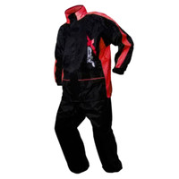 JPX RAINCOAT | BLACK RED | JAS HUJAN JPX