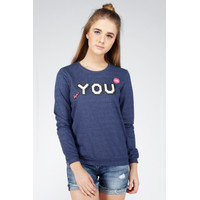 Sweater Wanita / Deways Blue Sweater 34311D1BL - Ninety Degrees