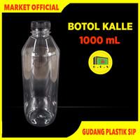 Botol Kale 1 Liter Tebal Kualitas Premium / Botol Kopi / Botol Kalle