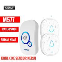 Bel Rumah Wireless Bel Pintu KERUI M577 2 Transmitter Waterproof