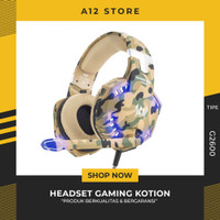 HEADSET GAMING KOTION EACH G2600 HEADPHONE LED LIGHT WITH MIC