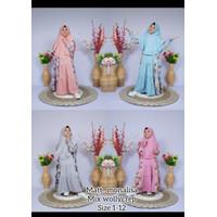 1 set hijab&gamis new fesion - salem, 1-2-3umr3-4,5th