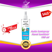 Aulia Sanispray Hand Sanitizer 100ml Terdaftar Kemenkes RI 0650