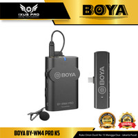 BOYA BY-WM4 PRO-K5 Wireless Omni Microphone USB Type-C Android