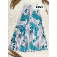 Rok Pliket BGA Muslimah / BGA Pleated Flare Skirt - Tosca